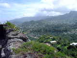 Grenada Valley View from St George's Fort