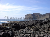 Volcanic Site and rocks