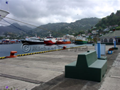 Passenger Wharf at St Vincent