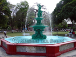 Trinidad Port of Spain Fountain in Park