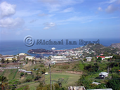 View over Grenada Harbour