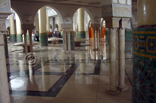 Hassan Mosque floor