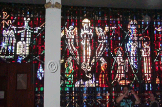 Catholic Cathedral Stained Glass Windows