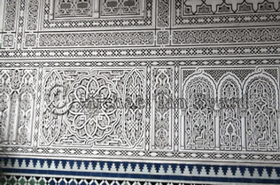 Decorated Wall in Palace, Casablanca