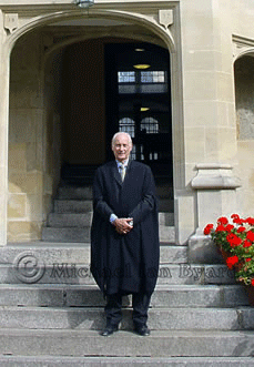 Michael as a Don, Oriel College Oxford