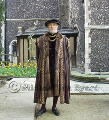 Michael as a Tudor Gentleman