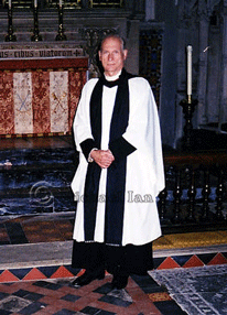 'Vicar' in Dorchester Abbey