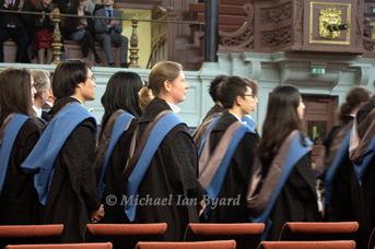 Conferring of Degrees at Oxford