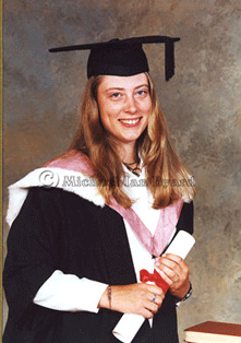 Annaliese's Graduation photograph at Liverpool University