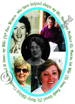 Five Women who have had an influence on my life