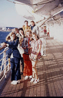 Family Group on the Boat Deck
