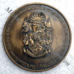150th Medallion Reverse