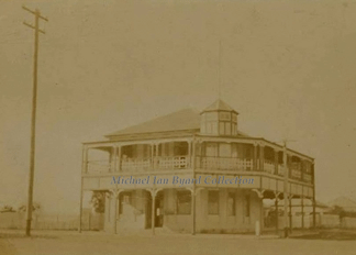 Bowen Office in sepia tone