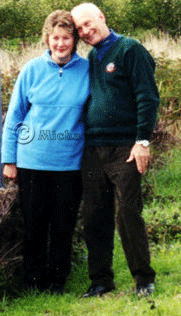 Ian and Betty Cook May 2003