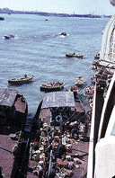 Bum Boats at Port Said