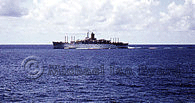 Passing the Oronsay, Indian Ocean, Mar 1967