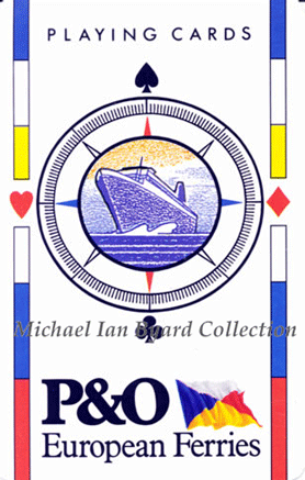 P and O Playing Cards