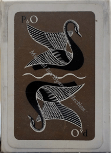 PandO Swan Playing Cards