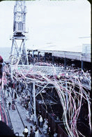 Farewell Streamers at Station Pier