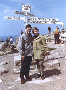 Ian and  Jenny, Sitmar Line Whitsun 1966