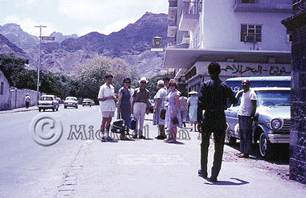 Marcia in Aden with the Gang