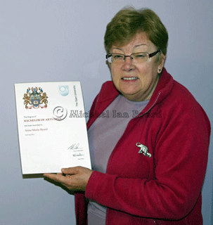 Anne with BA Degree