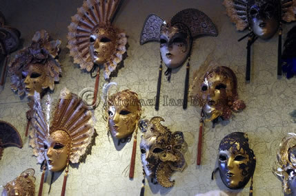 Selection of Masks for annual pageant