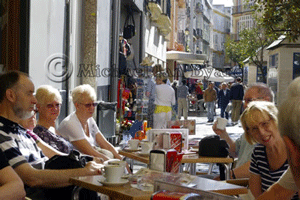 Cadiz-Open Air Cafe