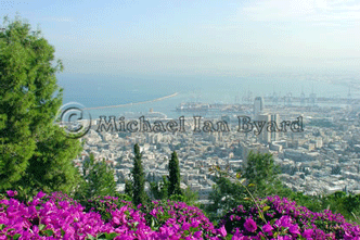 Israel Anne view from Mt Carmel