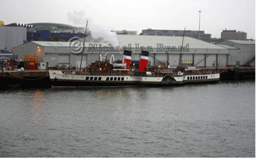 Paddle Steamer Waverley at Southampton