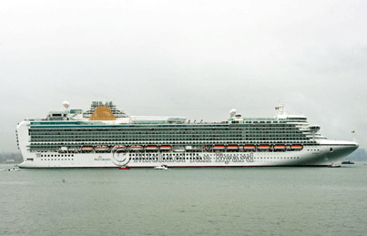P and O Cruises Azura