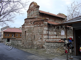 Nesebur old church