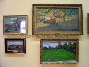 Other paintings by Sochi artists