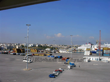 Heraklion Crete Port Area