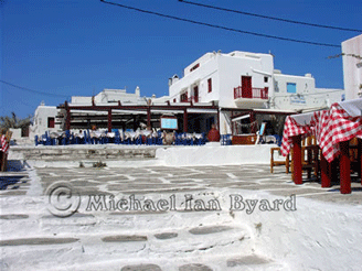Mykanos Square and Taverna