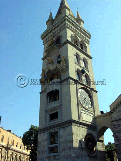 Clock Tower with Puppets