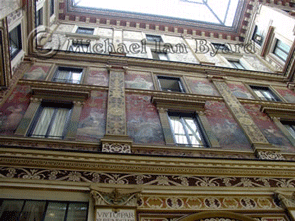 Rome building exterior decoration