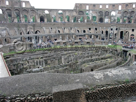 Colosseum Interior-left side