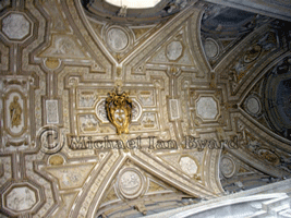 Ceiling decoration in The Vatican