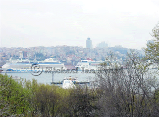 View of the port from Topkapi Palace